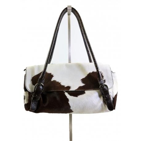 """Miu Miu """"Cowhide"""" Handbag"""