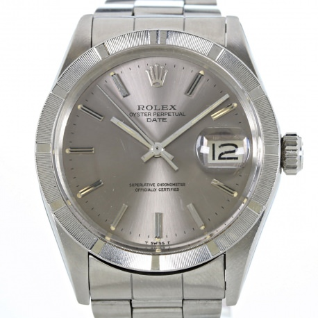 "Rolex Date ""Esfera Gris"" año 1974 ref. 1501"