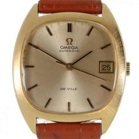 Omega de Ville 162045 Oro Caja y Papeles