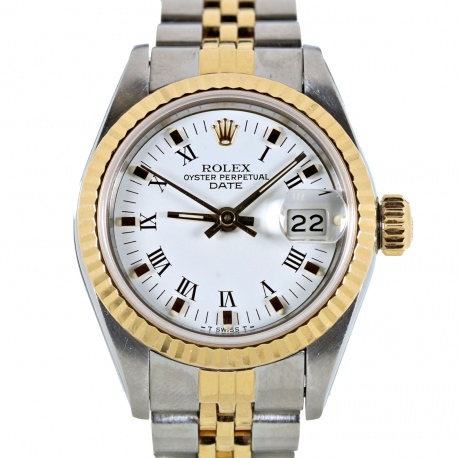 Rolex Date Mujer Ref. 69173 Acero y Oro
