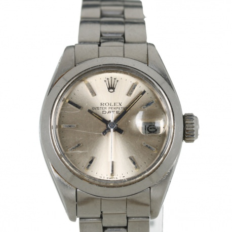 Rolex Date Steel Ladies ref.6916