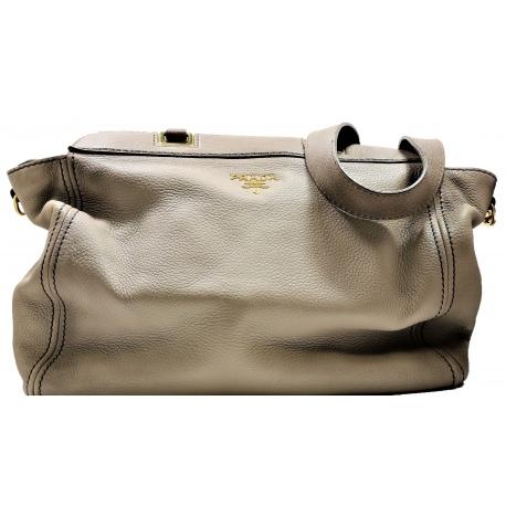 Prada Grey Cross body Handbag