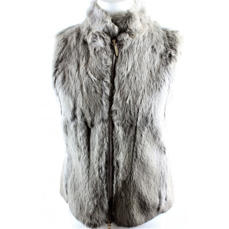 Carolina Herrera. Fur vest Size XS.