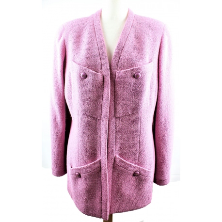 Chanel Jacket Hot Pink