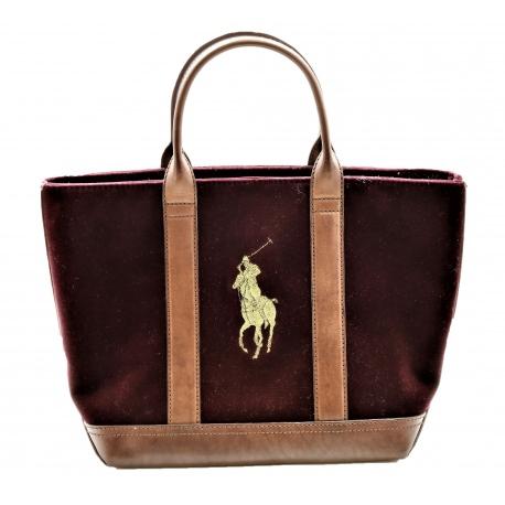 Bolso Ralph Lauren Tote Big Pony Polo