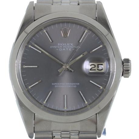 Rolex Date ref 1500 Grey 1969
