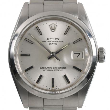 Rolex Date Esfera Sigma 1972 ref 1500