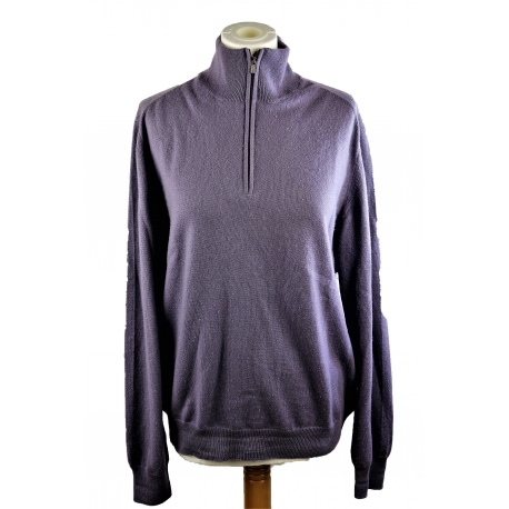 Hermes Half Zip Sweater