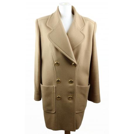 Christian Dior Vintage. Camel coat