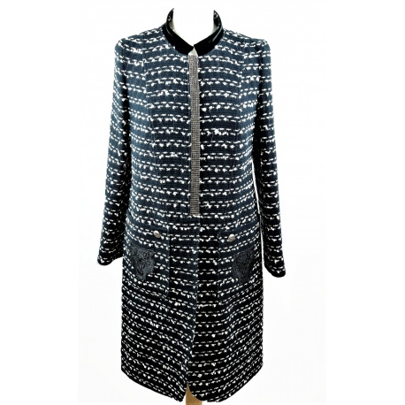 Felipe Varela. 60 Tweed Coat.