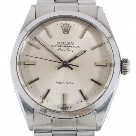 Rolex Air King Precision Full Set Completo 1983