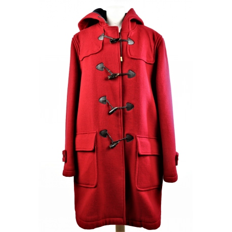 Carolina Herrera. Duffle overcoat with hood