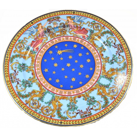 "Versace. porcelain plate""Nativitie 1997"" Limited Edition"