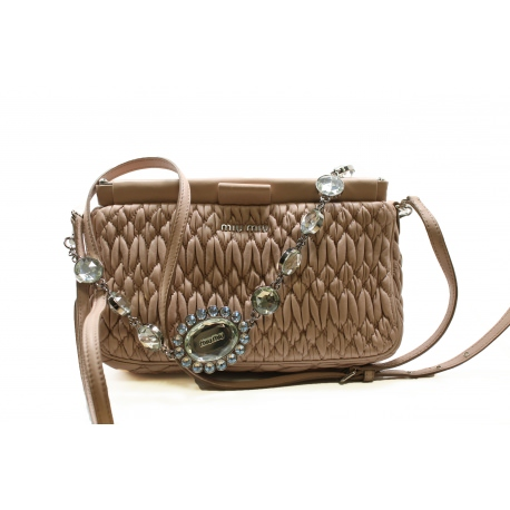 Miu Miu Matelasse Handbag