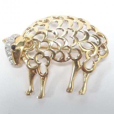Broche oveja
