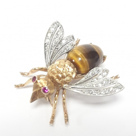 Broche mosca
