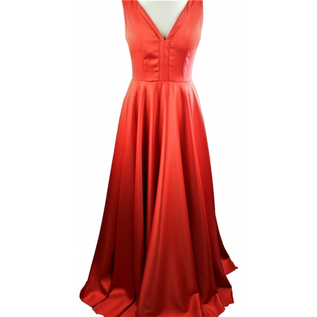 Dress for Woman.Red long party dress