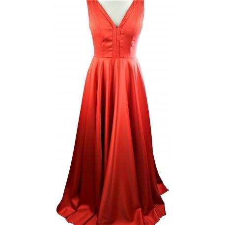 Vestido Mujer.Vestido Rojo de Fiesta