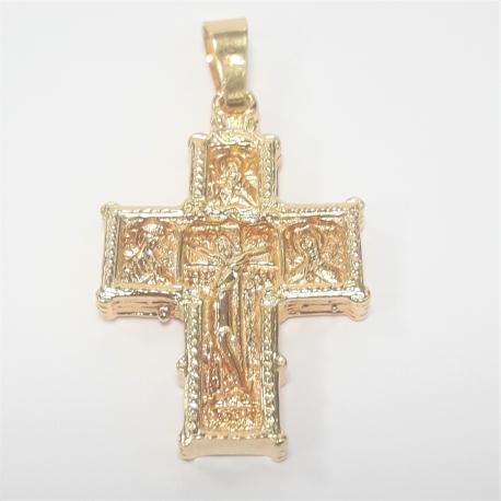 Cruz bizantina oro