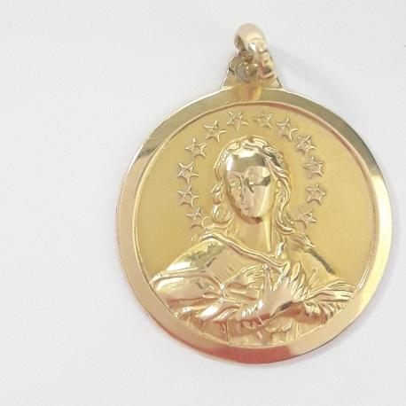 Medalla Virgen de la Inmaculada