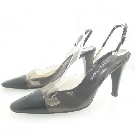 Zapato abierto Giorgio Armani
