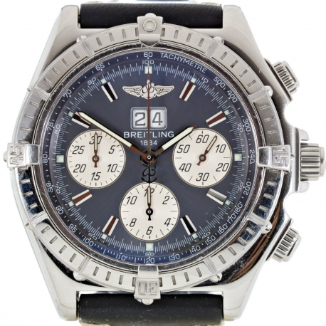 Breitling Crosswind Automatic Chronograph ref. A44355 Box and Papers
