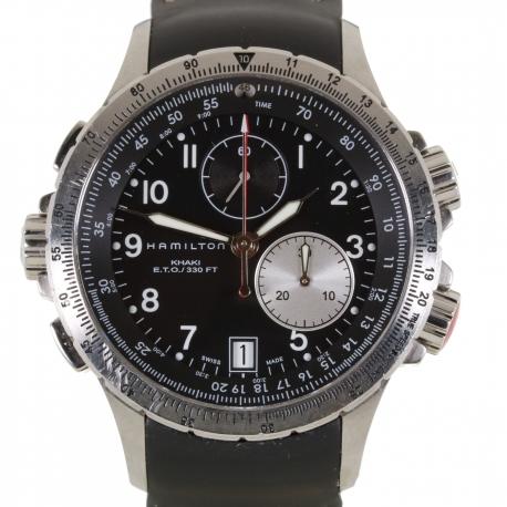 Hamilton Chronograph Khaki E.T.O Ref. H776120 Quartz