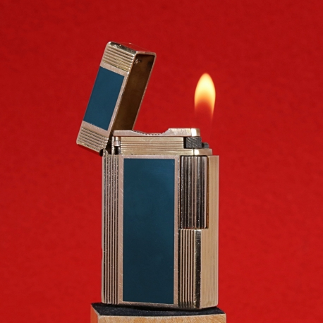 Dupont Lighter Golden Chinese Lacquer