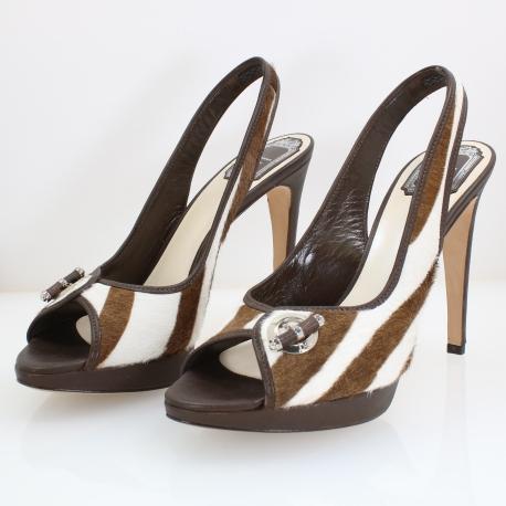 Sandalia tacòn Christian Dior
