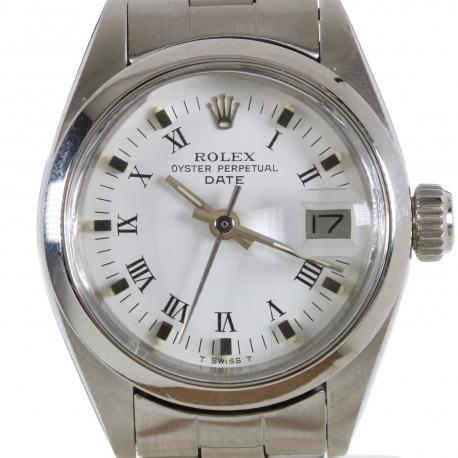 Rolex Date ref 6916 Steel 1979 Mint