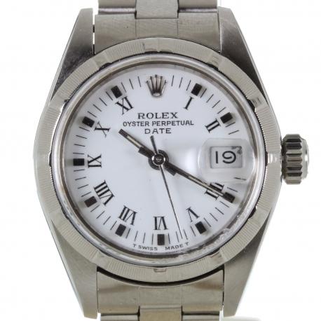 Rolex Date Ladies ref 69190 Steel 1987