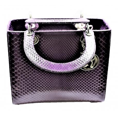 Bolso Lady Dior M Python