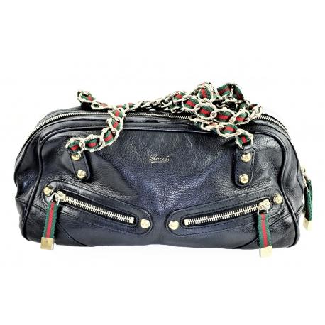 Gucci Horsebit Leather Bag