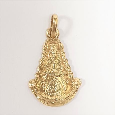 Medalla Silueta Virgen del Rocio