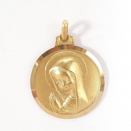 Medalla Virgen niña