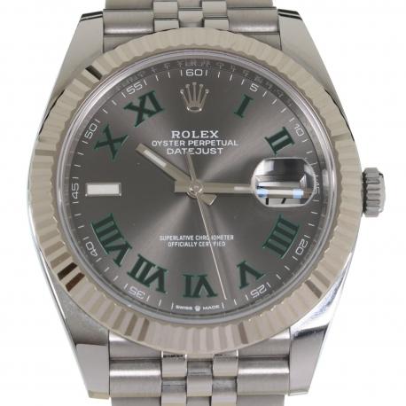 Rolex Datejust ref 126334 Wimbledon Caja Papeles