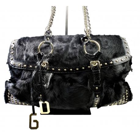 Bolso Dolce Gabbana Pelo Negro