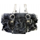 Dolce Gabbana Black Fur Handbag