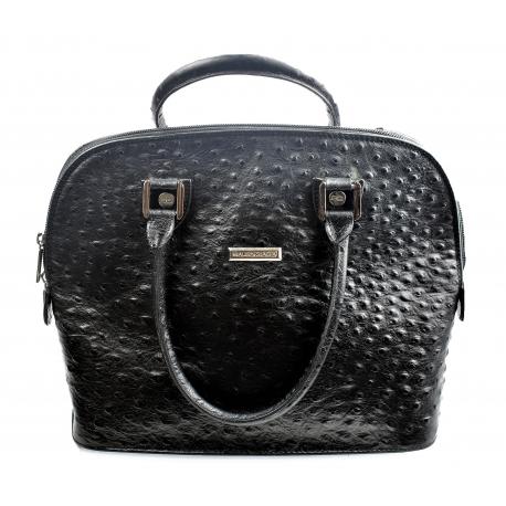 Balenciaga Ostrich Vintage Handbag