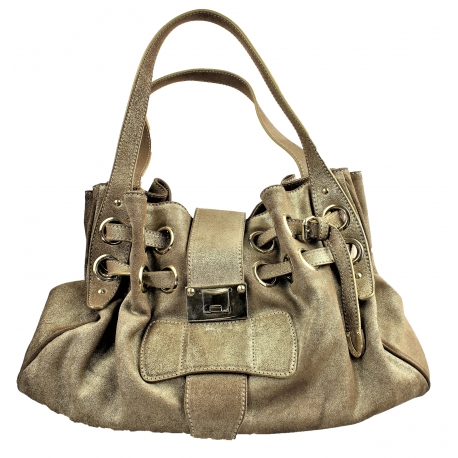 Jimmy Choo Gold tone Handbag