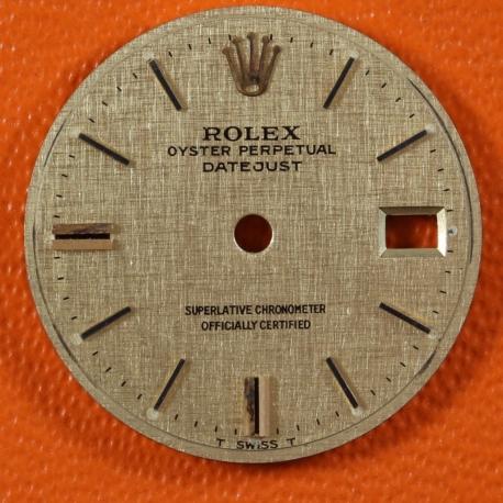 Rolex Date Linen Ladies Dial