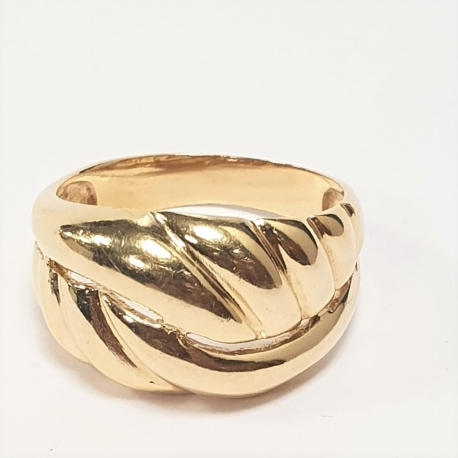 Sortija nudo oro