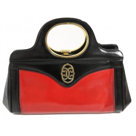 Bolso Vintage Rojo/Negro
