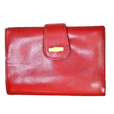 Cartera Longchamp Roja vintage