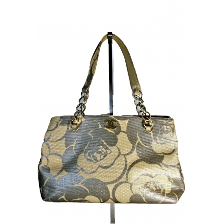 Bolso Chanel Rafia Camelia