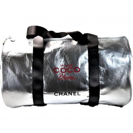 Bolsa Chanel Plateada