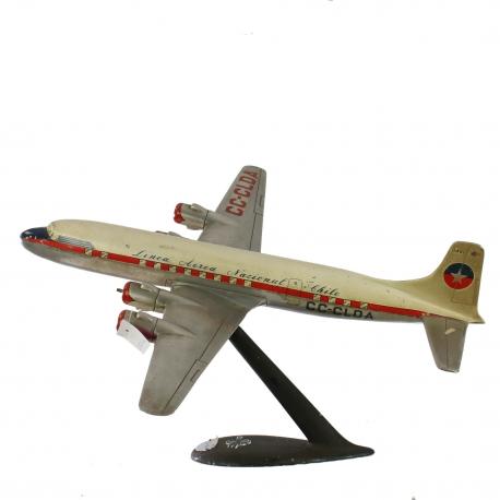 Maqueta Avión DC-6B LAN Chile
