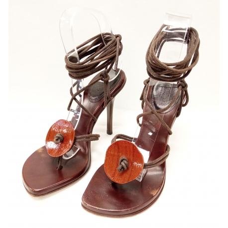 Sandalia Gucci cuerdas