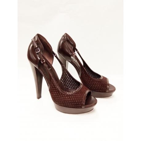 Zapatos Yves Saint Laurent marròn