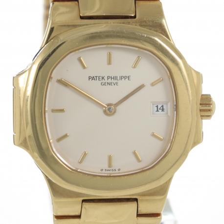 Patek Phillipe Nautilus Ladies 18k Gold 26mm